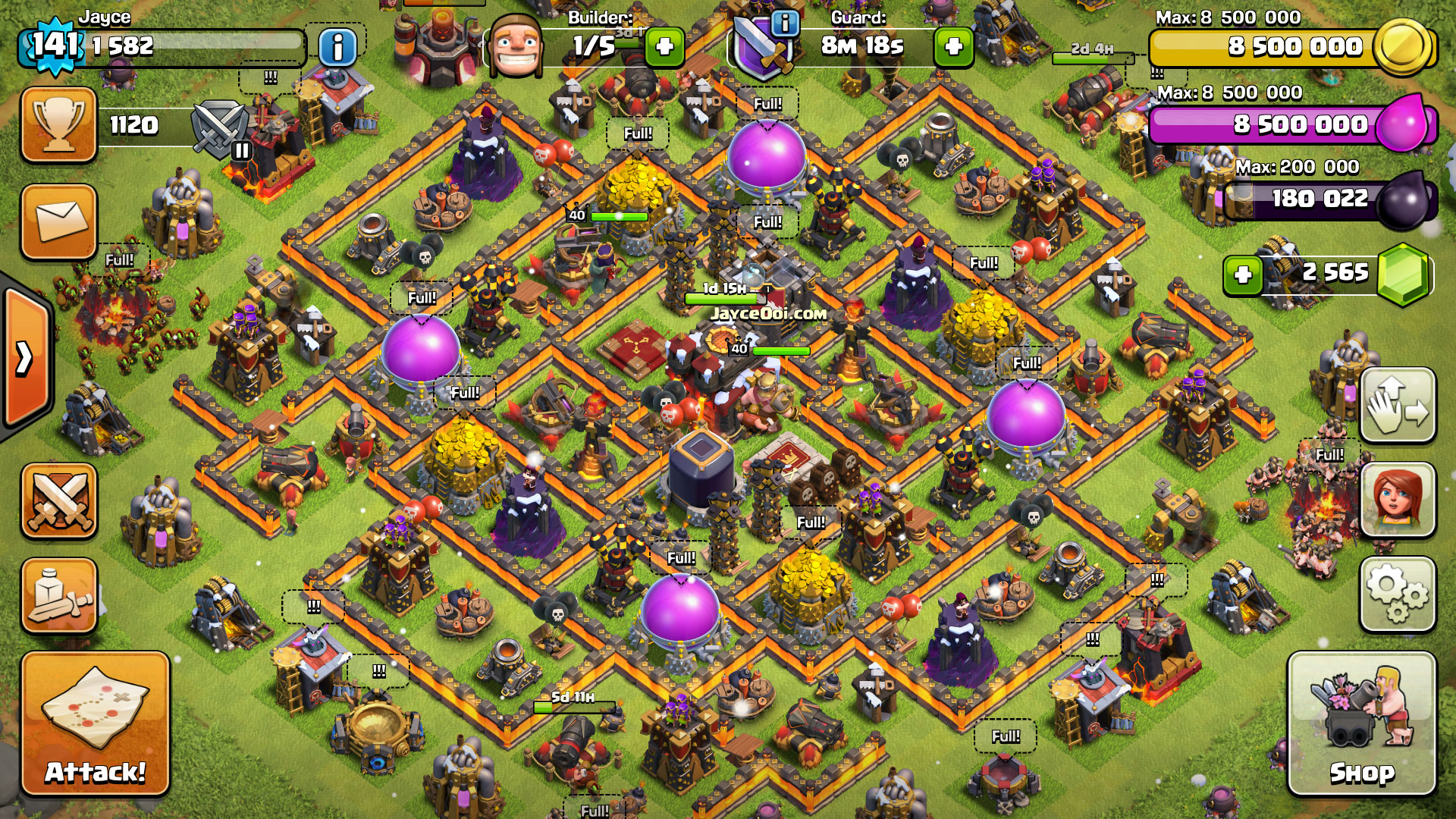 Best Clash Of Clans Village Design