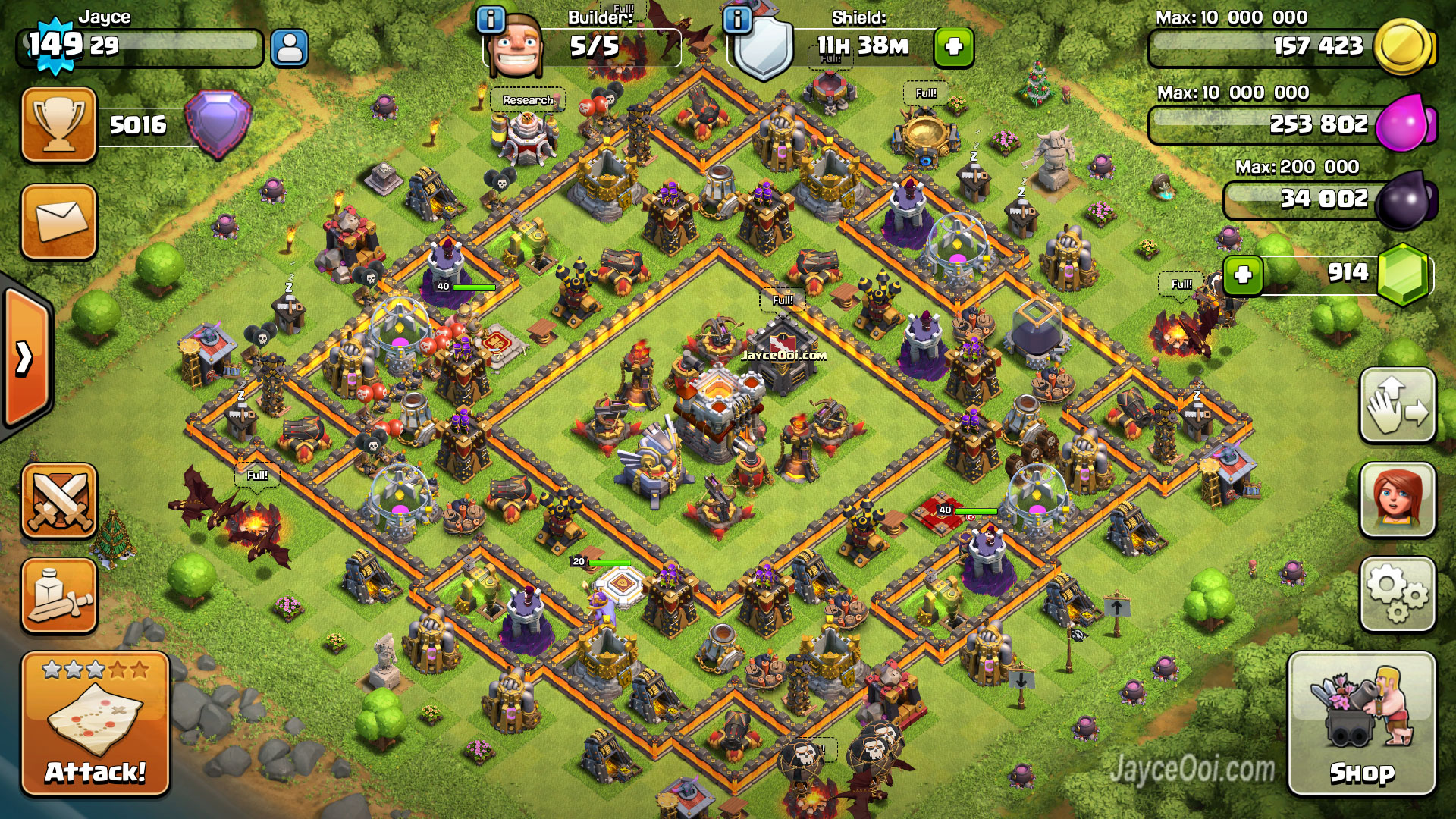 best defenses clash of clans image collections