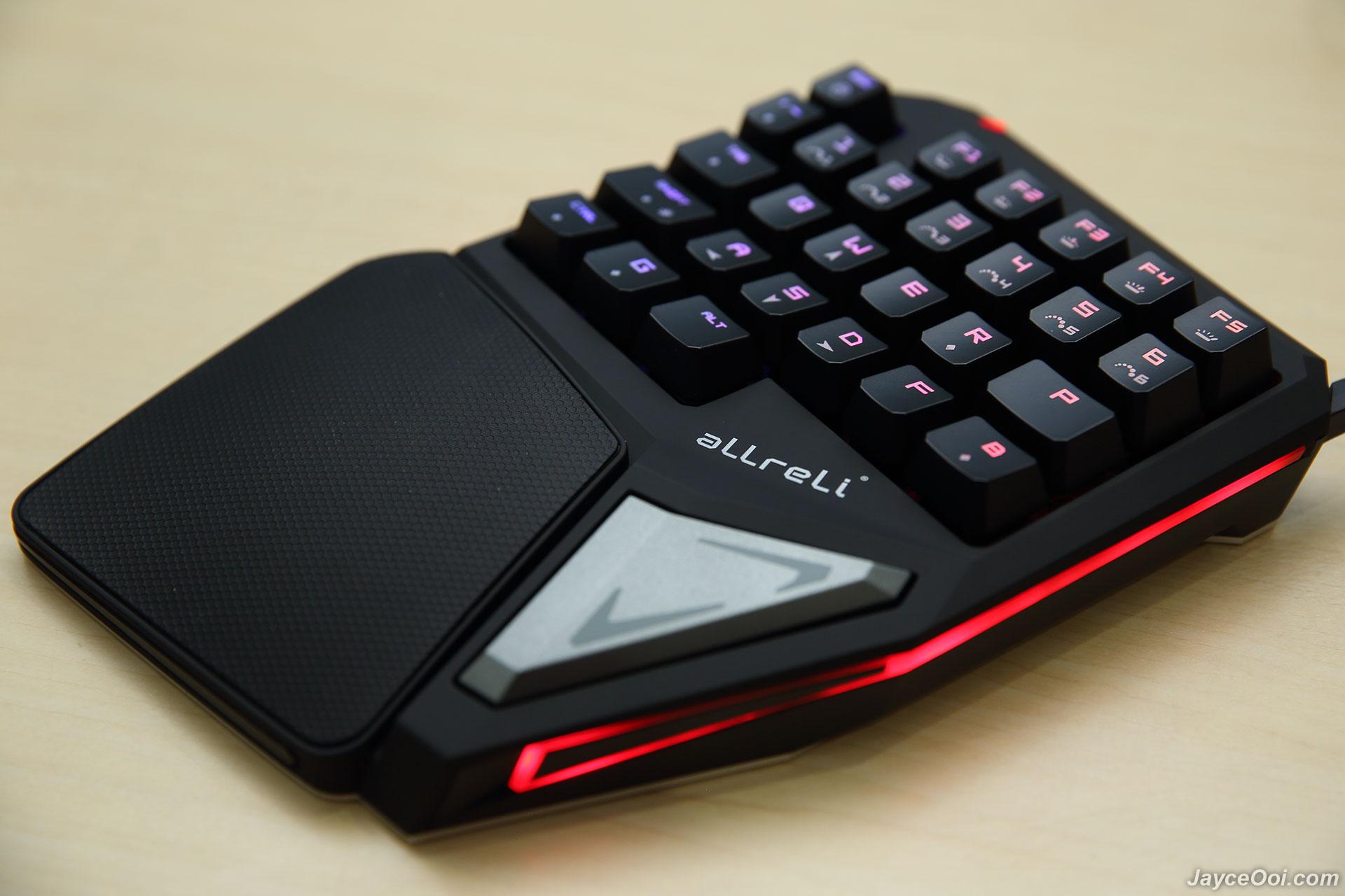aLLreLi T9 Plus Single-handed Mechanical Gaming Keyboard