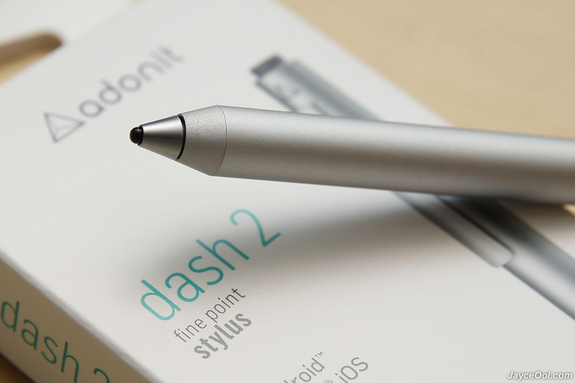 Review: Adonit's new Jot Dash finally makes digital iPad ...