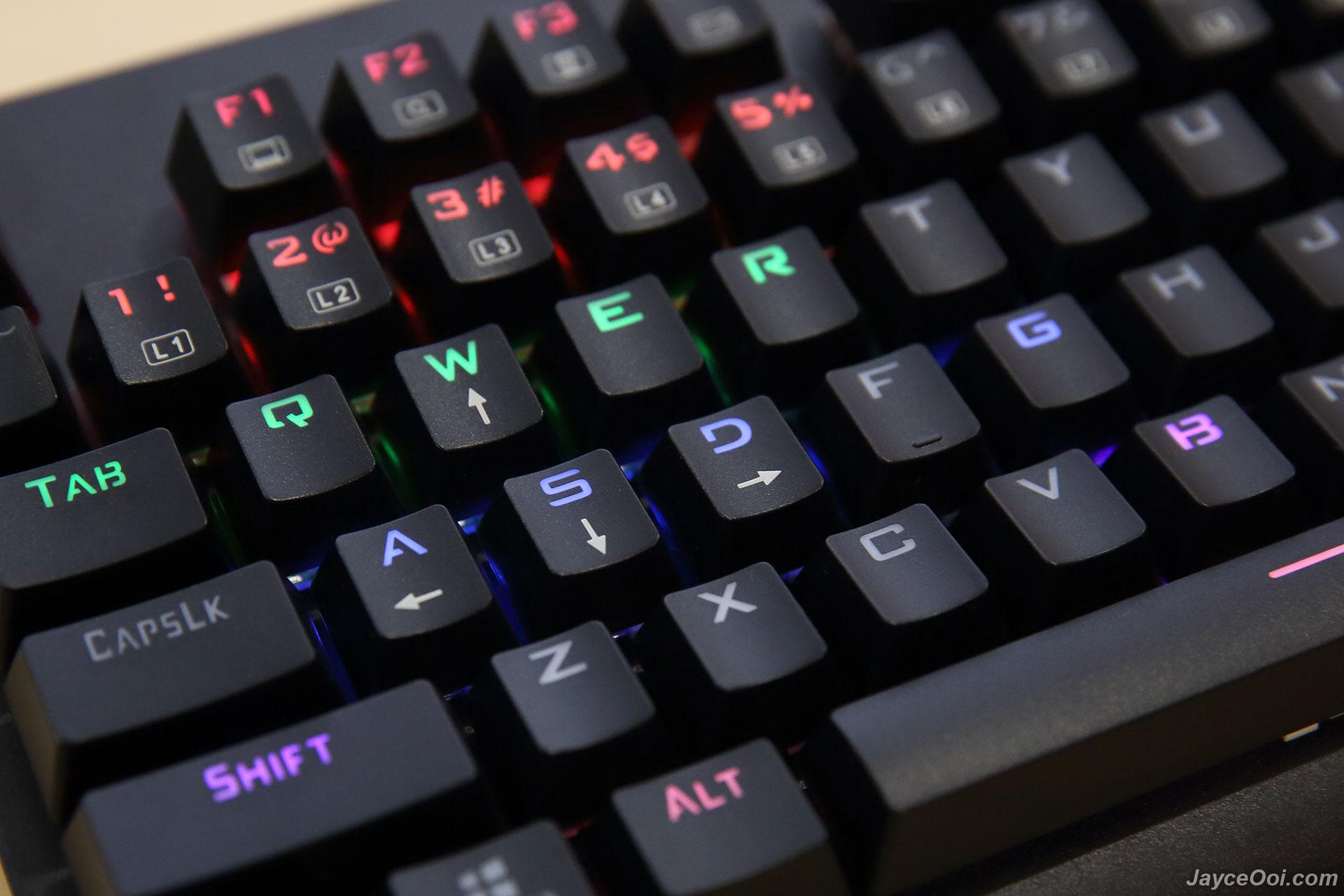 Granvela Mechanicaleagle Z 77 Mechanical Gaming Keyboard