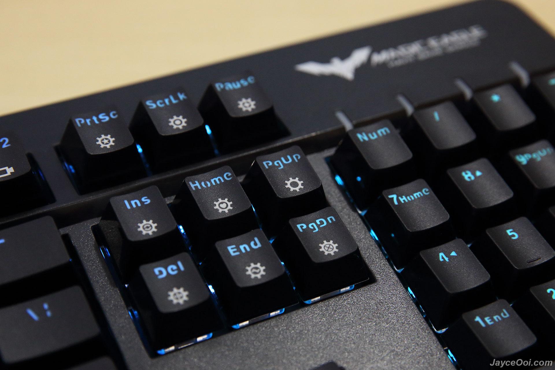 havit hv-kb389l rgb mechanical gaming keyboard review