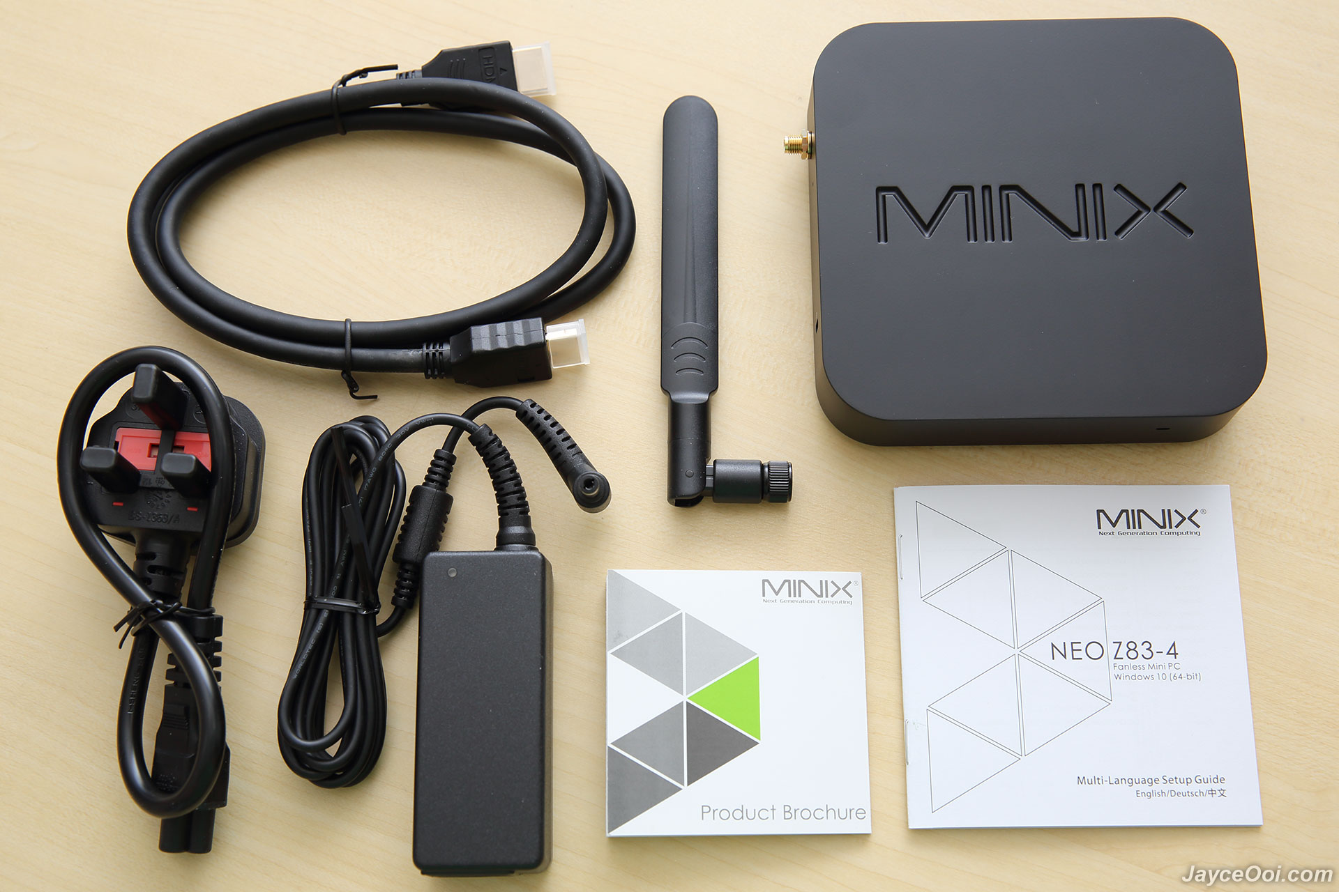 MINIX NEO Z83-4 Fanless Mini PC Review - JayceOoi com