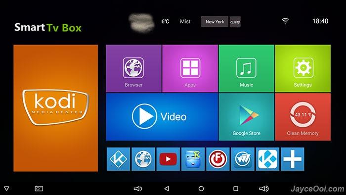 sunvell-t95k-pro-interface