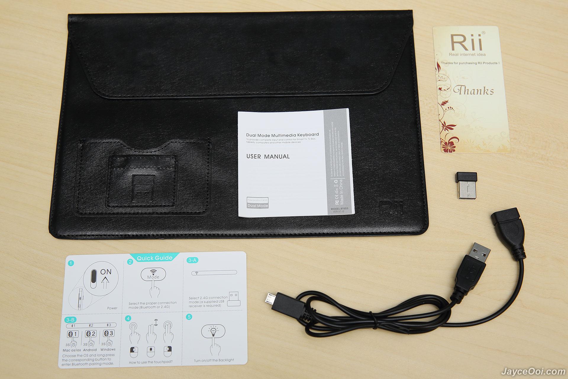 Rii K16 Mini Wireless Keyboard Review - JayceOoi com