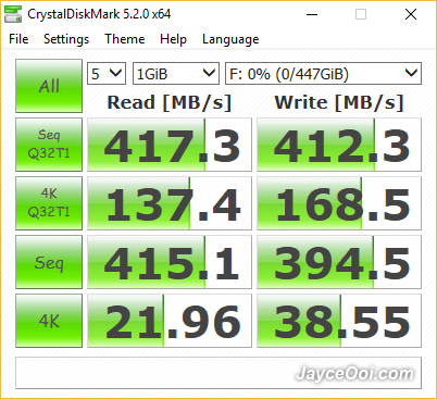 ORICO-2569S3-CrystalDiskMark