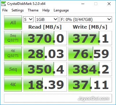 Orico-2789U3-CrystalDiskMark