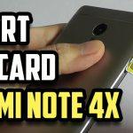 How to insert SIM & SD card in Xiaomi Redmi Note 4X? (Video)