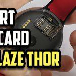 How to insert SIM card in Zeblaze THOR? (Video)