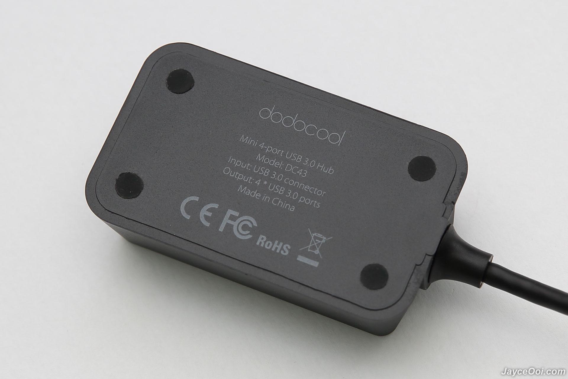 dodocool Mini 4-port USB 3.0 Hub Review