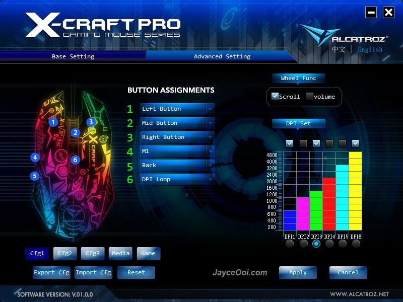 Alcatroz X-Craft Pro Quantum Z7000 Review - JayceOoi com