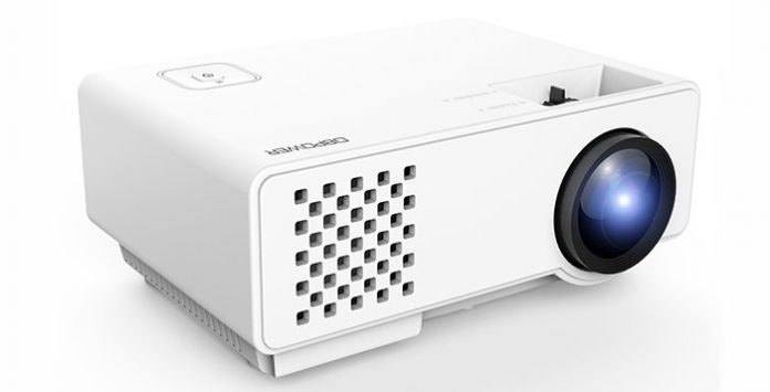 Dbpower rd 810 portable projector best deals for Pocket projector deals