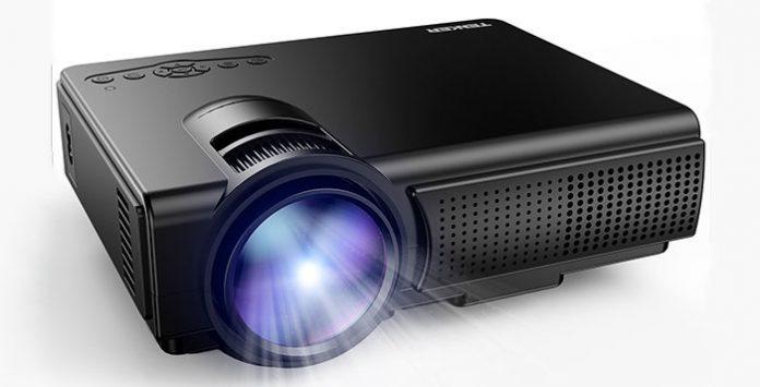 Tenker q5 multimedia mini projector best deals for Best mini projector