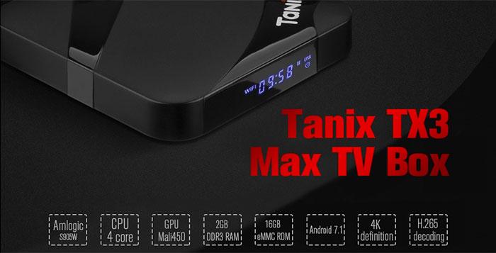 Tanix Tx3 Max Tv Box Best Deals Jayceooi Com