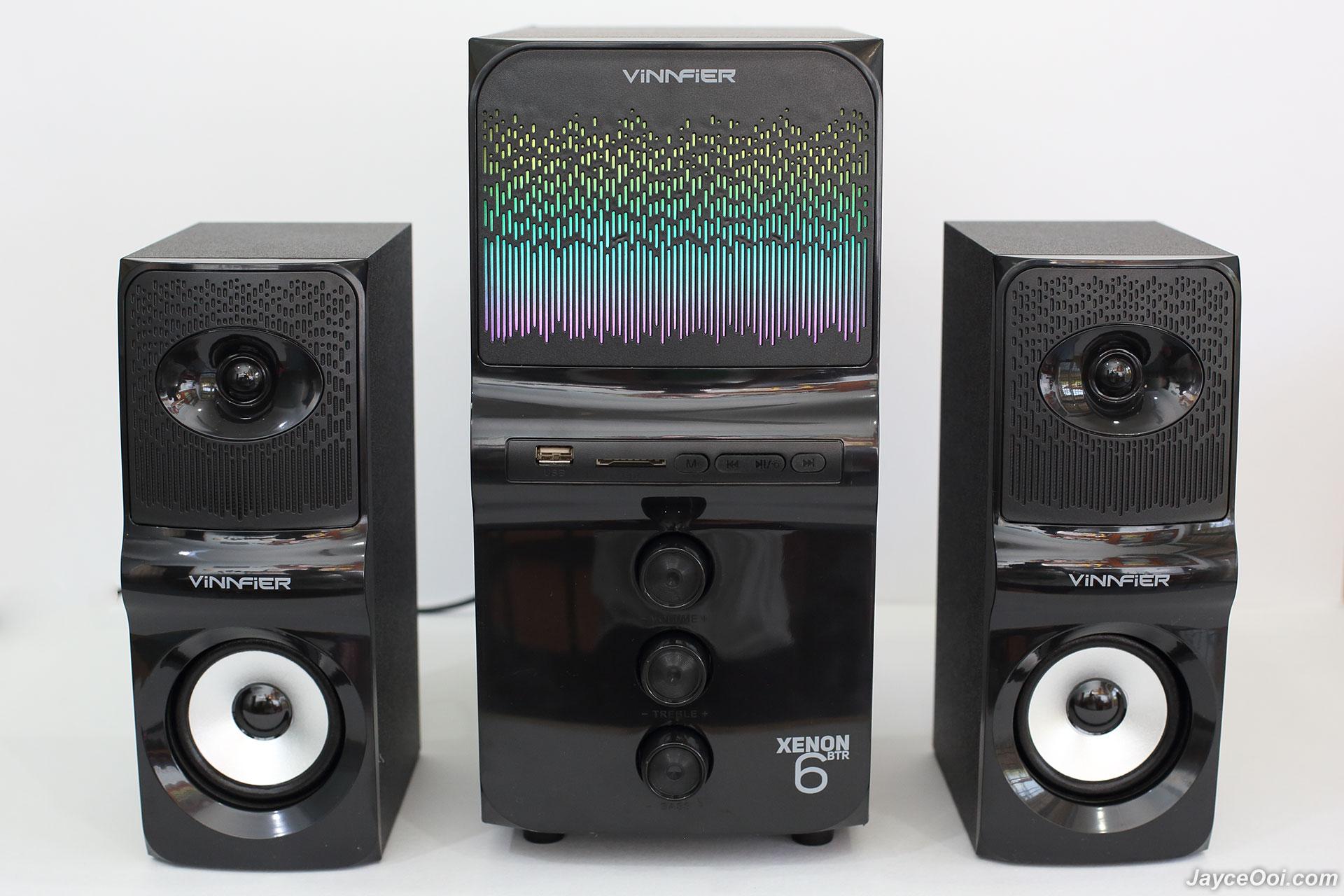 Vinnfier Xenon 6 Btr Review Sonicgear Quatro V Usb Powered 21 Multimedia Computer Pc Speaker Alright