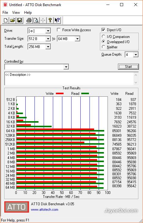 64GB Transcend 500S microSD Review - JayceOoi com